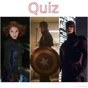 Quiz: Kannst du die Charaktere des Marvel Cinematic Universe anhand eines Bildes erraten?