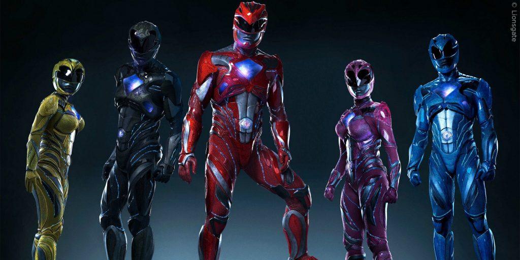 So sind die neuen Power Rangers im ersten Trailer leider noch nicht zu sehen.